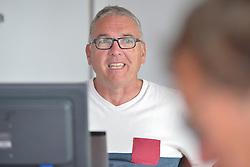 Jean-Jacques Dubois - Stage d'entrainement avec l'equipe France de voile - Sonar a ENVSN, St Pierre de Quiberon