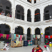 A dormitory for pilgrims nearby the Golden Temple.