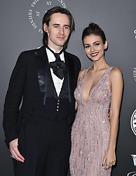 The Art of Elysium's 11th Annual Heaven Gala. Barker Hanger, Santa Monica, CA. Pictured: Travis Mills and Madelaine Petsch. EVENT January 6, 2018. 06 Jan 2018 Pictured: Reeve Carney,Victoria Justice. Photo credit: AXELLE/BAUER-GRIFFIN/MEGA TheMegaAgency.com +1 888 505 6342
