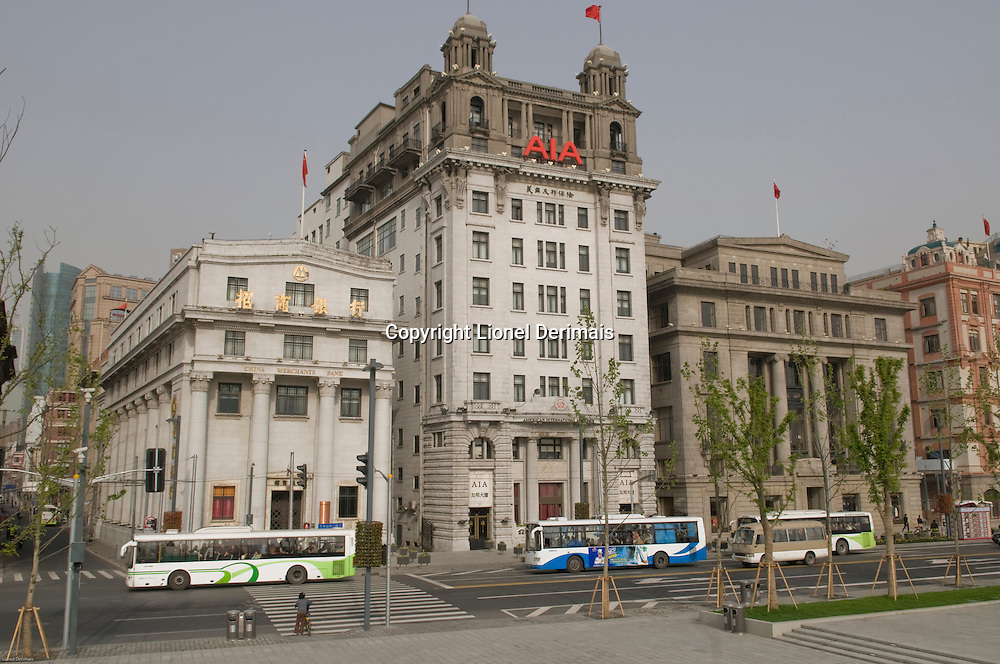 Le Bund, Shanghai.