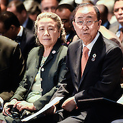 20160615 - Brussels , Belgium - 2016 June 15th - European Development Days - Opening Ceremony - Ban Ki-Moon - Secretary General, United Nations and his wife © European Union