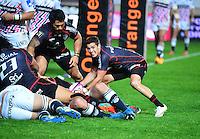 Sebastien BEZY - 24.04.2015 - Stade Francais / Stade Toulousain - 23eme journee de Top 14<br />Photo : Dave Winter / Icon Sport