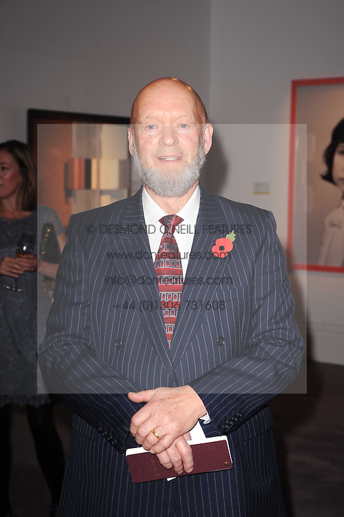 MICHAEL EAVIS at the Krug Mindshare auction held at Sotheby's, New Bond Street, London on 1st November 2010.