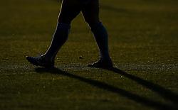 Legs of Worcester Warriors Scrum Half JB Bruzulier  - Photo mandatory by-line: Joe Meredith/JMP - Mobile: 07966 386802 - 20/05/2015 - SPORT - Rugby - Bristol - Ashton Gate - Bristol Rugby v Worcester Warriors - Greene King IPA Championship - Play-Off Final