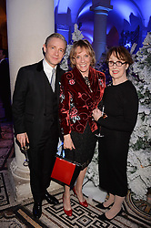 Martin Freeman, Dame Esther Rantzen, Una Stubbs at a glittering St Paul's Cathedral carol concert to celebrate Childline's 30th anniversary hosted by the NSPCC in the presence of HRH The Countess of Wessex., London England. 13 December 2016.
