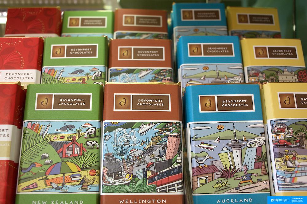 Chocolate displays at Devonport Chocolates, 17 Wynyard St., Auckland, New Zealand, 7th November 2010. Photo Tim Clayton