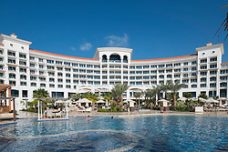 Waldorf Astoria Hotel on The Palm Jumeirah Island in Dubai United Arab Emirates