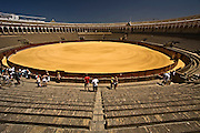 Sevilla bull fighting arena photo Piotr Gesicki