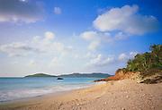 6211-1016C ~ Copyright: George H. H. Huey ~ Beach at Hermitage Bay, Five Islands Harbor. West coast Antigua. Leeward Islands, Lesser Antilles, Caribbean.