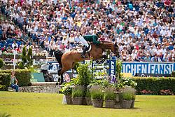 Guerdat Steve, SUI, Bianca<br /> CHIO Aachen 2019<br /> Weltfest des Pferdesports<br /> © Hippo Foto - Dirk Caremans<br /> Guerdat Steve, SUI, Bianca