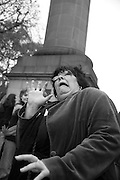 SUE TILLEY, INTERCOURSE: Re-enacting Eisenstein: The Odessa Steps Sequence from Battleship Potemkin<br /> Jane and Louise Wilson directed the re-enactment on the steps outside the ICA. 26 November 2011.