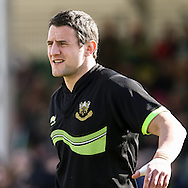 Phil Dowson of Northampton Saints before the LV Cup Final match at Sandy Park, Exeter<br /> Picture by Andy Kearns/Focus Images Ltd 0781 864 4264<br /> 16/03/2014