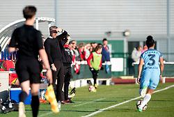 Willie Kirk manager of Bristol City Women looks on - Mandatory by-line: Paul Knight/JMP - 09/05/2017 - FOOTBALL - Stoke Gifford Stadium - Bristol, England - Bristol City Women v Manchester City Women - FA Women's Super League Spring Series