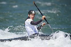 Rosalyn LAWRENCE of Australia during the Canoe Single (WC1) Womens Final race of 2019 ICF Canoe Slalom World Cup 4, on June 30, 2019 in Tacen, Ljubljana, Slovenia. Photo by Sasa Pahic Szabo / Sportida