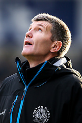 Exeter Chiefs director of rugby Rob Baxter - Mandatory by-line: Robbie Stephenson/JMP - 08/12/2019 - RUGBY - AJ Bell Stadium - Manchester, England - Sale Sharks v Exeter Chiefs - Heineken Champions Cup