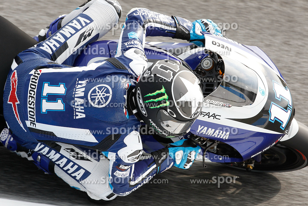 29.04.2011, Estoril, POR, MotoGP, Grande Premio de Portugal, Estoril, im Bild Ben Spies - Yamaha factory team. EXPA Pictures © 2011, PhotoCredit: EXPA/ InsideFoto/ Semedia +++++ ATTENTION - FOR AUSTRIA/AUT, SLOVENIA/SLO, SERBIA/SRB an CROATIA/CRO CLIENT ONLY +++++