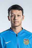 **EXCLUSIVE**Portrait of Chinese soccer player Gao Tianyi of Jiangsu Suning F.C. for the 2018 Chinese Football Association Super League, in Nanjing city, east China's Jiangsu province, 23 February 2018.