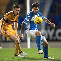 St Johnstone v MotherwellÖ17.12.16     McDiarmid Park    SPFL<br /> Richie Foster and Jack McMillan<br /> Picture by Graeme Hart.<br /> Copyright Perthshire Picture Agency<br /> Tel: 01738 623350  Mobile: 07990 594431