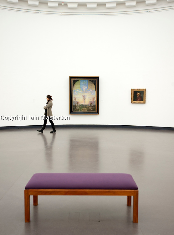 The Kunsthalle art gallery in Hamburg Germany