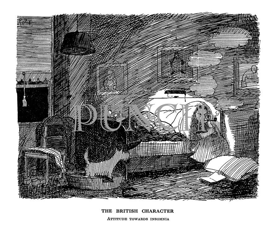 The British Character. Attitude towards insomnia