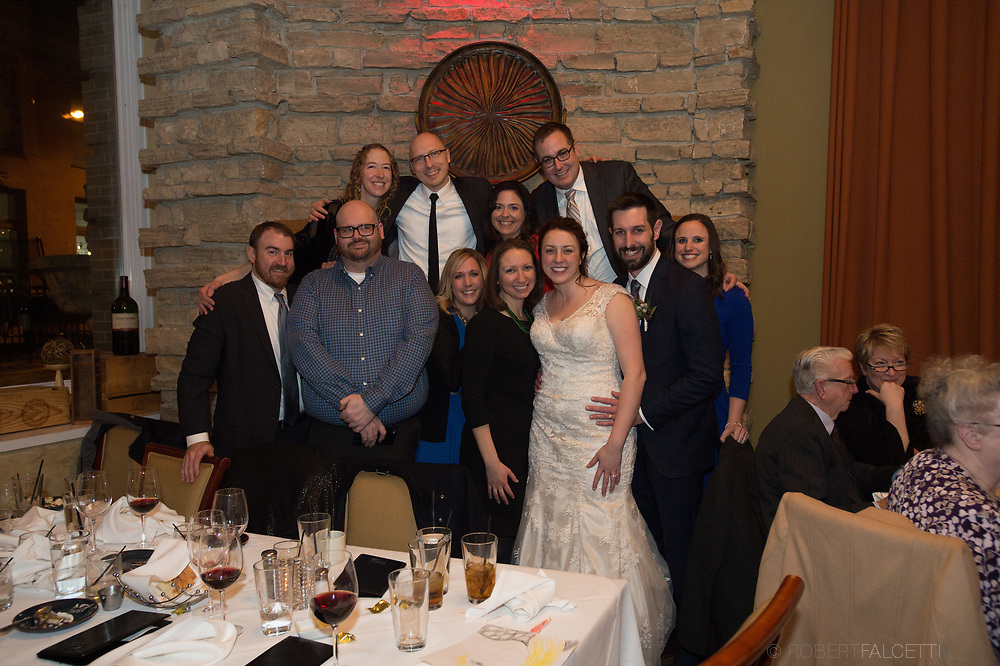 December 30, 2017- Diel-McCoy Wedding.  (Photo by Robert Falcetti)