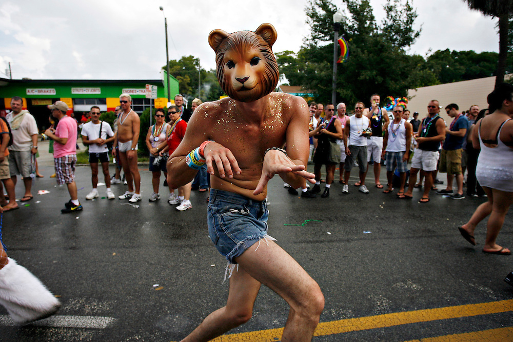 Bears at the Pride Parade, St. Petersburg