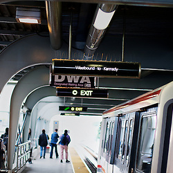 Public transportation: Subway Rapid Transit.