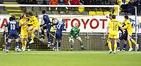 Fotball<br /> 26 oktober 2008<br /> Tippeligaen<br /> Bodø/Glimt - Strømsgodset<br /> Trond Olsen , Bodø/Glimt utligner til 1 - 1 med heading fra corner<br /> Foto: Reidar Talset , Digitalsport