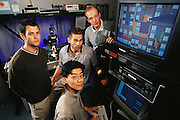 Micro Technology: University of California, Berkeley: Kris Pister Team - Micromanipulator Probe station testing micro machined chips. Model Released [2000]
