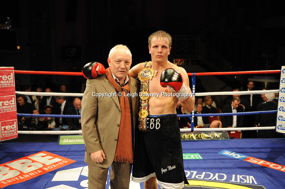 Sam Webb (black shorts) defeats Martin Concepcion at The Troxy, Limehouse, London, 16th October 2010. Frank Maloney Promotions © Photo credit: Leigh Dawney