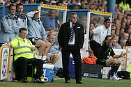 Cardiff City v Norwich City, Coca Cola Championship match at Ninian Park in Cardiff on Saturday 23rd August 2008. Cardiff city manager Dave Jones.