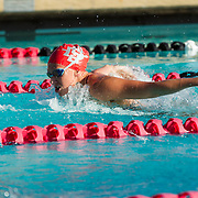 02 December 2016: The San Diego State Aztecs Swimming team hosted Pepperdine Friday afternoon at the SDSU Aquaplex. Event 6 100 Yard Butterfly www.sdsuaztecphotos.com