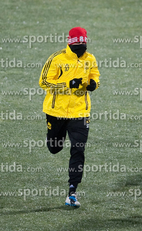 01.12.2010, Stadionul Steaua, Bucharest, ROM, UEFA Europa League, FC Steaua Bucuresti v Liverpool FC, training Liverpool, im BildLiverpool's Martin Skrtel training at the Stadionul Steaua ahead of the UEFA Europa League Group K match against FC Steaua Bucuresti. EXPA Pictures © 2010, PhotoCredit: EXPA/ Propaganda/ David Rawcliffe +++++ ATTENTION - OUT OF ENGLAND/UK +++++