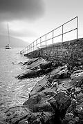 Boat ramp at Killary Fjord, (none), Ireland (October 2007)