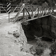 Bridge crossing a ravine along the Apache Trail