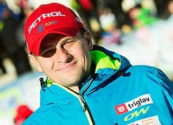 Tomaz Sustersic during Men 12,5 km Pursuit at day 3 of IBU Biathlon World Cup 2014/2015 Pokljuka, on December 20, 2014 in Rudno polje, Pokljuka, Slovenia. Photo by Vid Ponikvar / Sportida
