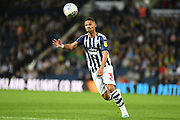 West Bromwich Albion defender Kieran Gibbs (3) concentrates on the ball during the EFL Sky Bet Championship match between West Bromwich Albion and Reading at The Hawthorns, West Bromwich, England on 21 August 2019.