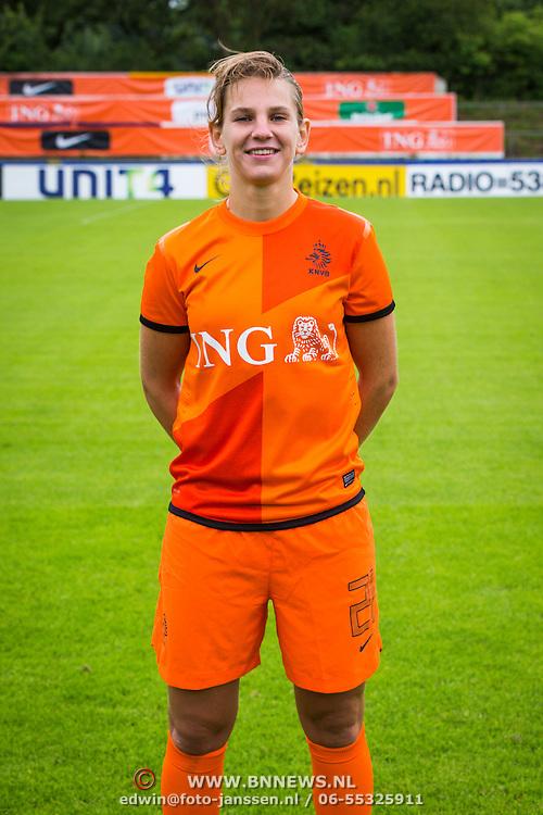 NLD/Velsen/20130701 - Selectie Nederlands Dames voetbal Elftal, Chantal de Ridder