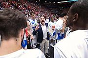 Diana Andrea time out in campo Brescia, EA7 EMPORIO ARMANI OLIMPIA MILANO vs  GERMANI BASKET BRESCIA, gara 1 Semifinale Play off Lega Basket Serie A 2017/2018, Mediolanum Forum Assago (MI) 24 maggio 2018 - FOTO: Bertani/Ciamillo