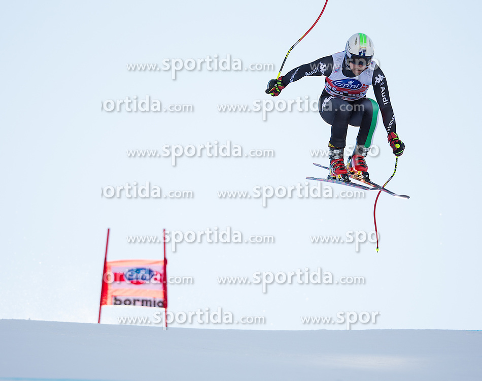 28.12.2013, Stelvio, Bormio, ITA, FIS Ski Weltcup, Bormio, Abfahrt, Herren, 2. Traininglauf, im Bild Peter Fill (ITA) // Peter Fill of Italy in action during mens 2nd downhill practice of the Bormio FIS Ski Alpine World Cup at the Stelvio Course in Bormio, Italy on 2012/12/28. EXPA Pictures © 2013, PhotoCredit: EXPA/ Johann Groder