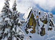 Eric Bryant enters &quot;The Gate&quot;<br /> Squaw Valley USA