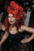 Paloma Faith Burlesque UK film premiere, Empire Cinema, Leicester Square, London, UK, 13 December 2010:  Contact: Ian@Piqtured.com +44(0)791 626 2580 (Picture by Richard Goldschmidt)