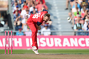 Lancashire Lightnings Danny Lamb  during the Vitality T20 Blast North Group match between Lancashire Lightning and Derbyshire Falcons at the Emirates, Old Trafford, Manchester, United Kingdom on 26 August 2019.