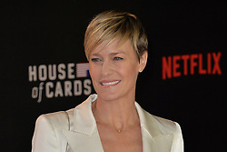 Robin Wright attends the World Premiere of 'House of Cards' Season 3 at The Empirem Leicester Square in London, England. 26th February 2015. EXPA Pictures © 2015, PhotoCredit: EXPA/ Photoshot/ James Warren<br /> <br /> *****ATTENTION - for AUT, SLO, CRO, SRB, BIH, MAZ only*****