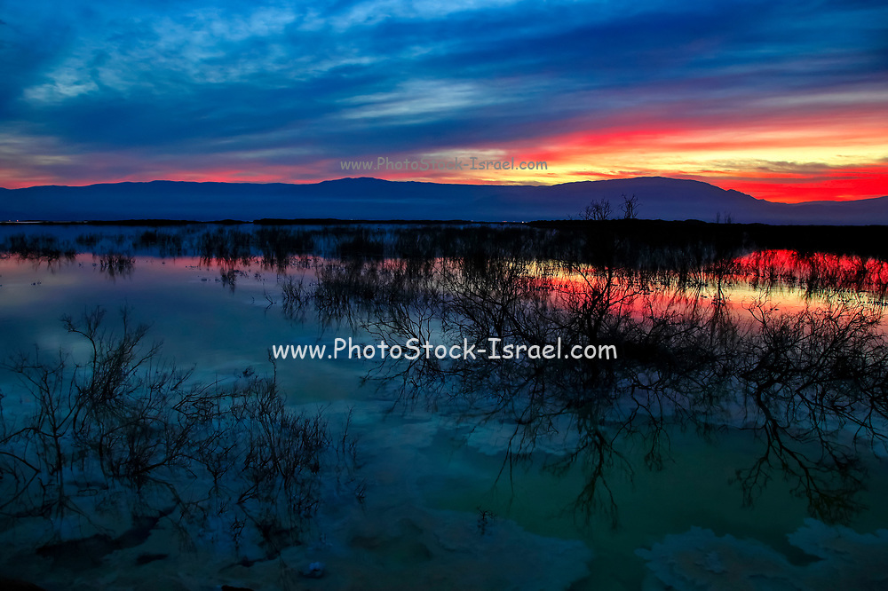 Sunrise over the Dead Sea, Israel