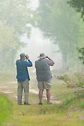 Birders, Tawas Point State Park, Michigan