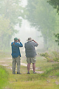 Birders, Tawas Point State Park, Michigan