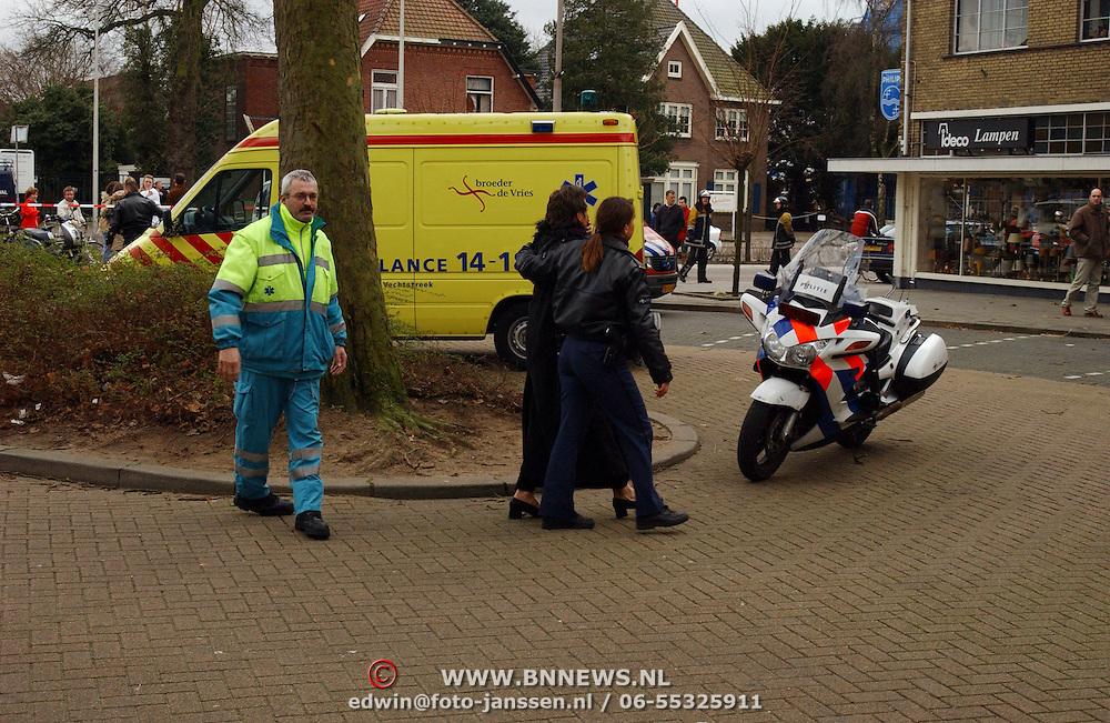 Brand na explosie Poststraat Bussum