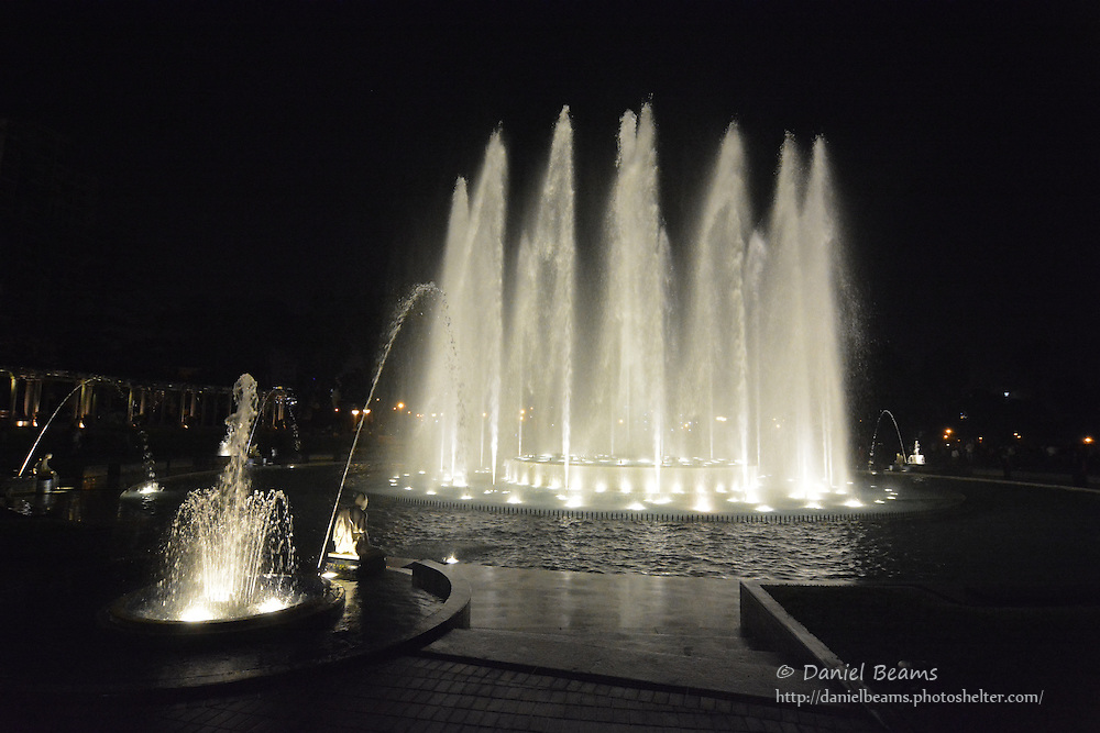Magic Water Show in Parque de la Reserva, Lima, Peru