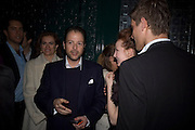 Matthew Vaughn, Dom Perignon and Claudia Schiffer host a celebration of Dom Perignon Oenotheque 1995. The Landau, Portland Place. London W1. 26 February 2008.  *** Local Caption *** -DO NOT ARCHIVE-© Copyright Photograph by Dafydd Jones. 248 Clapham Rd. London SW9 0PZ. Tel 0207 820 0771. www.dafjones.com.